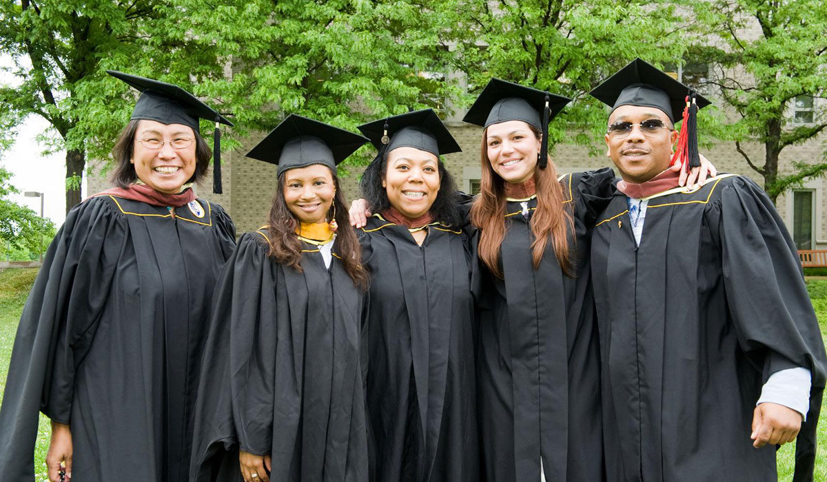 Interdisciplinary students graduating