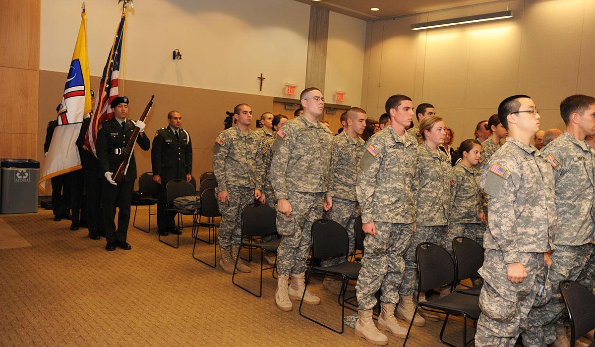 Veterans event